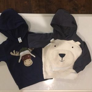 Toddler boy 3t hooded sweatshirt lot